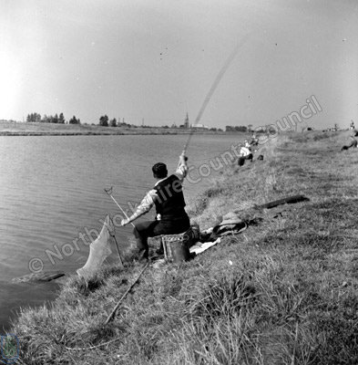 Fishing, River Welland, Spalding
